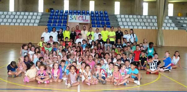 L'escola esportiva d'estiu de Salou, en marxa
