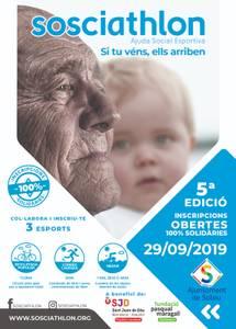 La cinquena edició de Sosciathlon arriba a Salou, aquest diumenge, per recaptar fons per la lluita contra l'Alzheimer i la paràlisi cerebral infantil