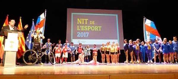 La sisena Nit de l'Esport reconeix uns 300 esportistes i els mèrits dels grups durant la darrera temporada 2017