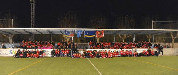 Més de 250 futbolistes van ser protagonistes a la presentació de la Unión Deportiva U.D. Salou