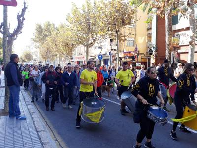 Prop de 200 persones se sumen a la desena edició de la pedalada, la caminada i l'excursió de Festa Major del 30 d'Octubre