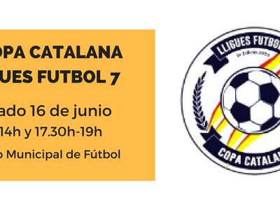 Salou viu aquest cap de setmana la tercera edició de la Copa Catalana de Futbol-7