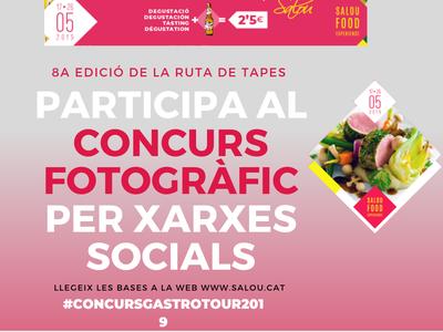 Gastrotour escalfa motors i engega un concurs fotogràfic per xarxes socials