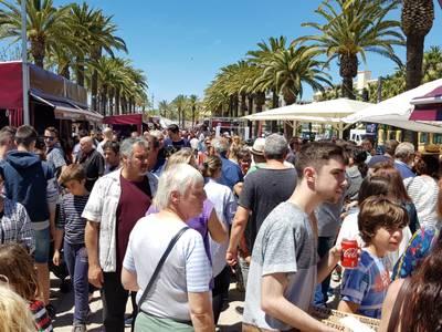 Més de 42.000 degustacions, una trentena d'expositors i nombrosos tallers i activitats, l'excel·lent balanç de la 9a edició de la fira gastronòmica Sabor Salou