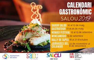 Salou presenta el nou calendari gastronòmic 2019