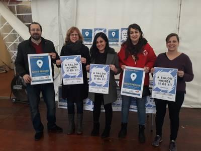 'A Salou només sí és sí'; la campanya contra agressions sexistes que s'engega entre els joves en el marc de la Festa Major