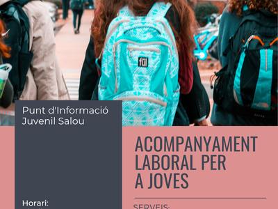 El PIJ de Salou realitza un acompanyament laboral per a joves a través del programa Referents d'Ocupació juvenil