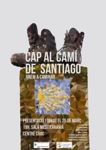 "El Grup ""Anem a Caminar"" es prepara per la sortida del Camí de Santiago"
