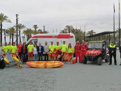 Es desplega el servei de Salvament i Socorrisme a les platges de Salou