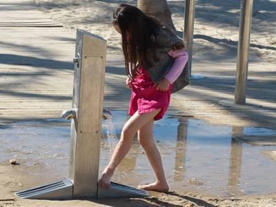 Finalitzen les millores dels rentapeus de la platja de Llevant
