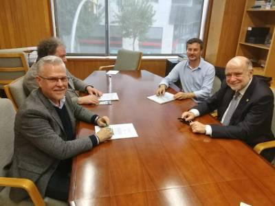 L'alcalde de Salou es reuneix amb el subdelegat del Govern per impulsar intervencions al litoral salouenc