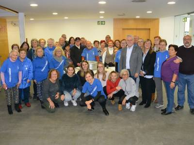 Salou felicita les festes de Nadal als membres del Grup 'Anem a Caminar'