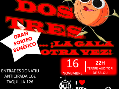 L'Associació Oncològica Dr. Amadeu Pelegrí de Salou celebra aquest dissabte la IX Gala Benèfica 'Un, dos, tres... La gala otra vez' per a la investigació contra el càncer