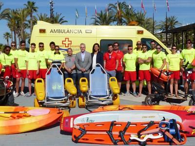 La capital de la costa Daurada desplega el servei de salvament i socorrisme a les platges del municipi
