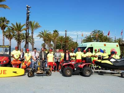 La capital de la costa Daurada inicia el desplegament del servei de salvament i socorrisme a les platges