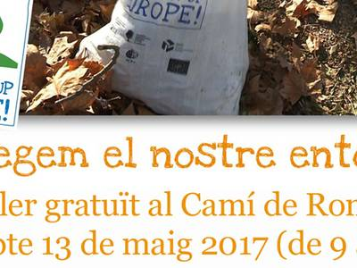 Salou busca voluntaris per participar a l'European Clean Up Day, al Camí de Ronda