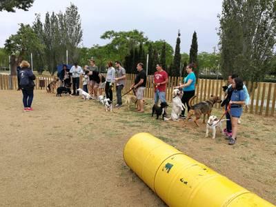 Salou posa en marxa una àrea lúdica per a les mascotes a la zona verda d'Emprius, a l'Avinguda Dr Eduard Punset