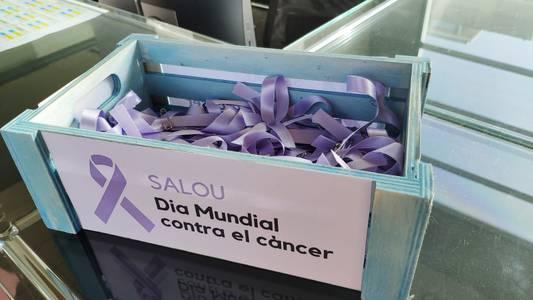 Salou se suma a la campanya del Dia Mundial contra el Càncer