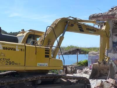 S'enderroca l'antic xalet de Pedrol Rius recuperant l'entorn natural de Cala Morisca a Cap Salou