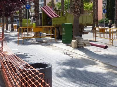 Afectació per obres de millora de subministrament elèctric al centre de Salou