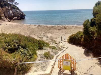 Dilluns s'inicien les obres de reparació de l'emissari de Cala Crancs a Cap Salou