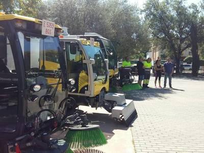 L'Ajuntament de Salou incrementa els mitjans de neteja i de recollida d'escombraries per aquest estiu