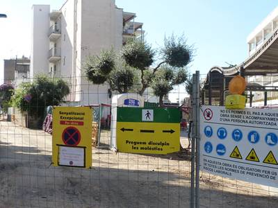 S'ha iniciat la remodelació del segon tram del passatge de la Jota i l'asfaltat de la segona fase del carrer Fra Juniper Serra