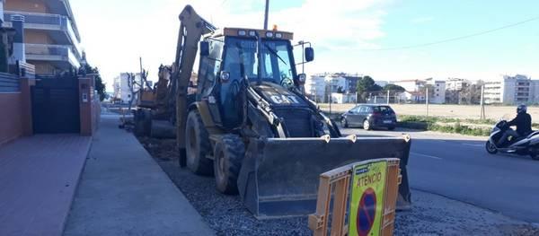 S'inicien els treballs de millora de l'asfalt al carrer Barenys de Salou