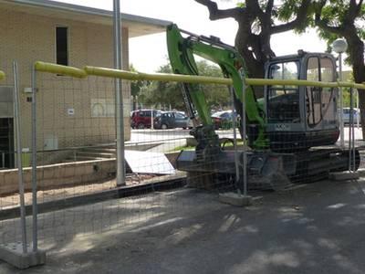 S'inicien les obres de les voreres dels carrers Milà i Advocat Gallego de Salou