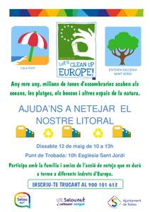 "Salou se suma a la iniciativa europea ""Let's Clean Up Europe!"""