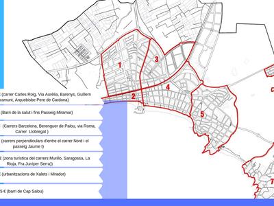 Salou inicia el pla de renovació i millora de la ciutat a set zones del municipi a principis de març