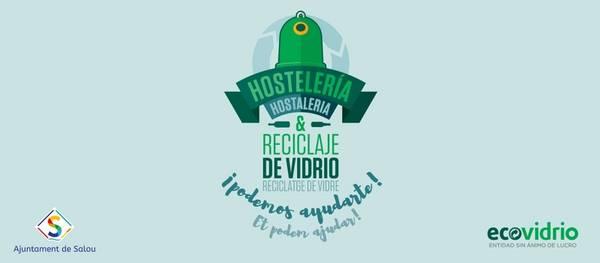 Salou inicia una nova campanya per promoure el reciclatge de vidre entre els establiments restauradors