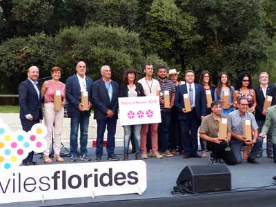 Salou manté les tres Flors d'Honor en el moviment Viles Florides 2019
