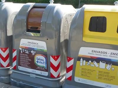Salou millora els índexs de reciclatge després del desplegament de la nova concessió al municipi