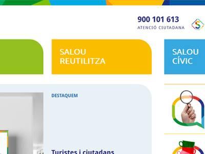 Salou posa en marxa una nova web temàtica per explicar les novetats i potenciar la neteja al municipi