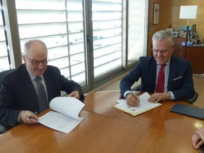 L'Ajuntament de Salou signa un conveni de col·laboració amb el Síndic de Greuges