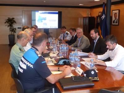 Els delictes a Salou es rebaixen d'un 3% els darrers mesos, segons es desprèn de la Junta Local de Seguretat