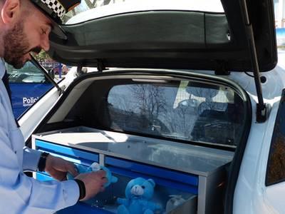 La Policia Local de Salou engega una campanya 'Un ensurt, un somriure...' adreçada als infants