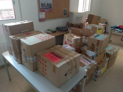 La Policia Local de Salou juntament amb la Guardia Civil decomissen productes falsificats per valor de 251.109€