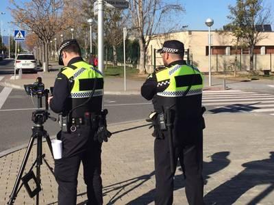 La Policia Local de Salou posa en marxa una campanya de seguretat passiva i un altra de control de velocitat en diferents punts del municipi