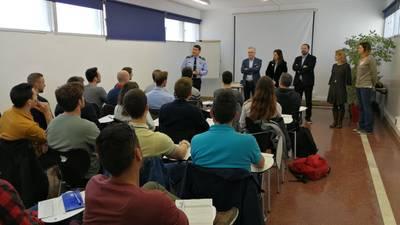 S'inicia el curs de formació impartit per l'Institut de Seguretat Pública de Catalunya a la caserna de la policia de Salou