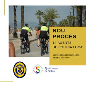 S'inicia una convocatòria de procés selectiu de 14 places per la Policia Local de Salou