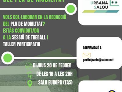 Salou busca la complicitat veïnal per incorporar les aportacions d'entitats i associacions al Pla de Mobilitat