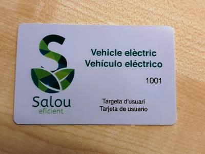 Salou envia targetes gratuïtes de recàrrega a tots els vehicles elèctrics del municipi