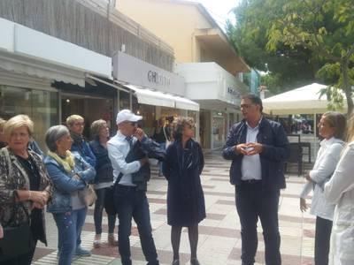 Comerciants de Salou visiten Platja D'Aro en un Retail Tour organitzat per la regidoria de Promoció Econòmica i Comerç