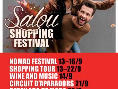 Continua el Salou Shopping Festival amb la batucada shopping amb Bandarra Street Orkestra