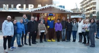 El 'Salou Christmas Village' obre les seves portes amb animació, xocolata desfeta i la visita del Tió Traginer