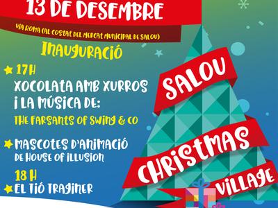 El Salou Christmas Village arriba aquest divendres amb les mascotes de 'House of Illusion' i xocolatada amb xurros