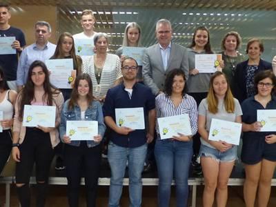 El VIIIè concurs l'Institut Emprèn premia les millors propostes de negoci entre els estudiants de Salou