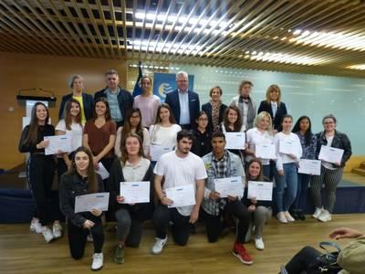 La desena edició de l'Institut Emprèn premia els millors projectes empresarials dels joves de Salou